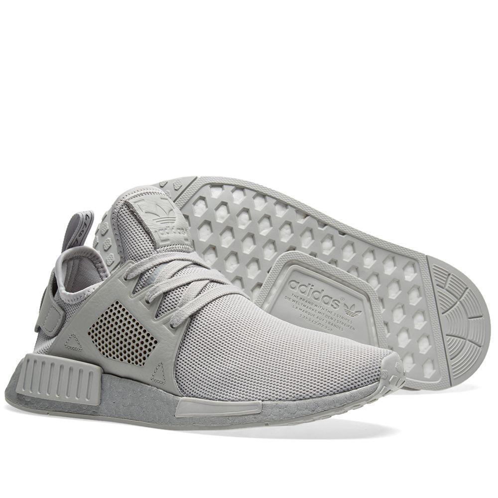 buy online 54091 c5598 Adidas NMDXR1. Grey Two  Metallic Silver