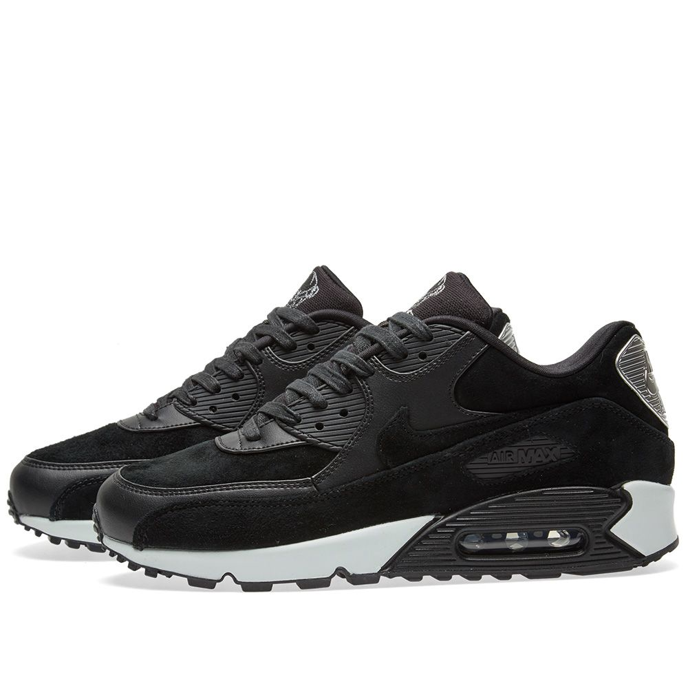 5d274dad1429ee Nike Air Max 90 Premium Black   Off White