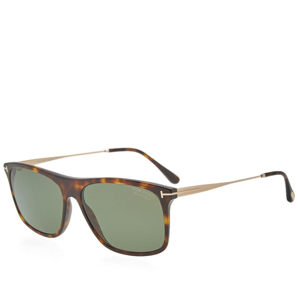 16d908798e1 Tom Ford FT0588 Max-02 Sunglasses. Dark Havana   Green Polarized. £285.  Plus Free Shipping. image