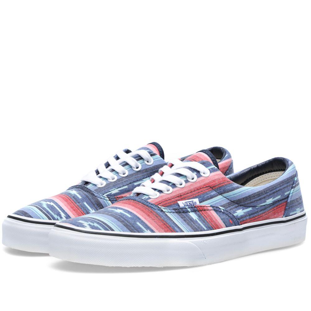 c65e056caa Vans Era Van Doren Multi Stripe   Blue
