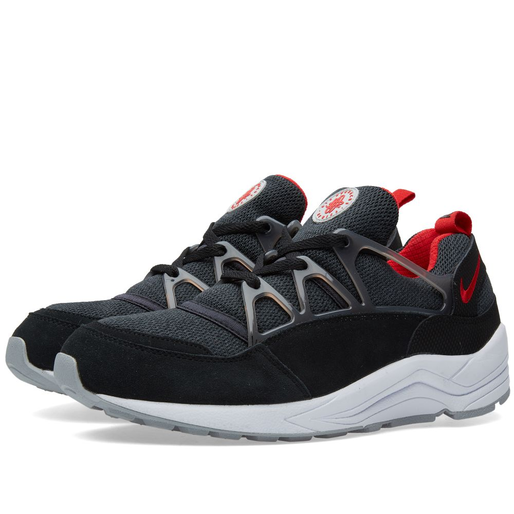 c0dc455c569d Nike Air Huarache Light Black   University Red