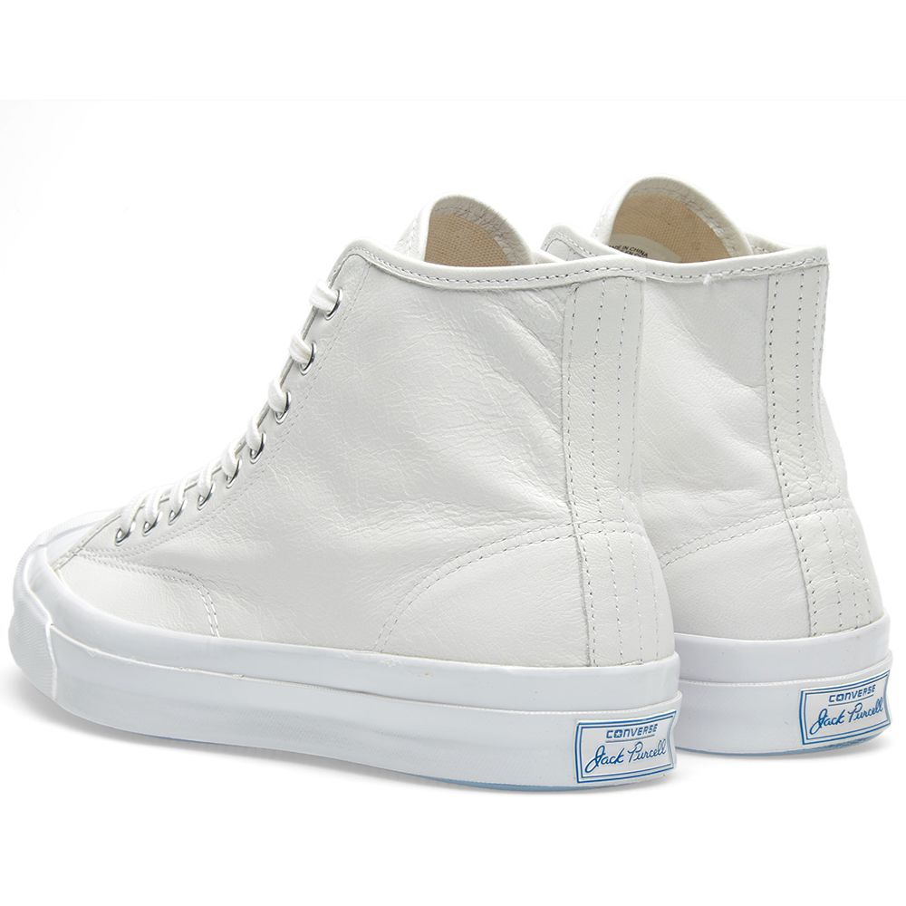 07f7f565e58 Converse Jack Purcell Signature Hi Premium White