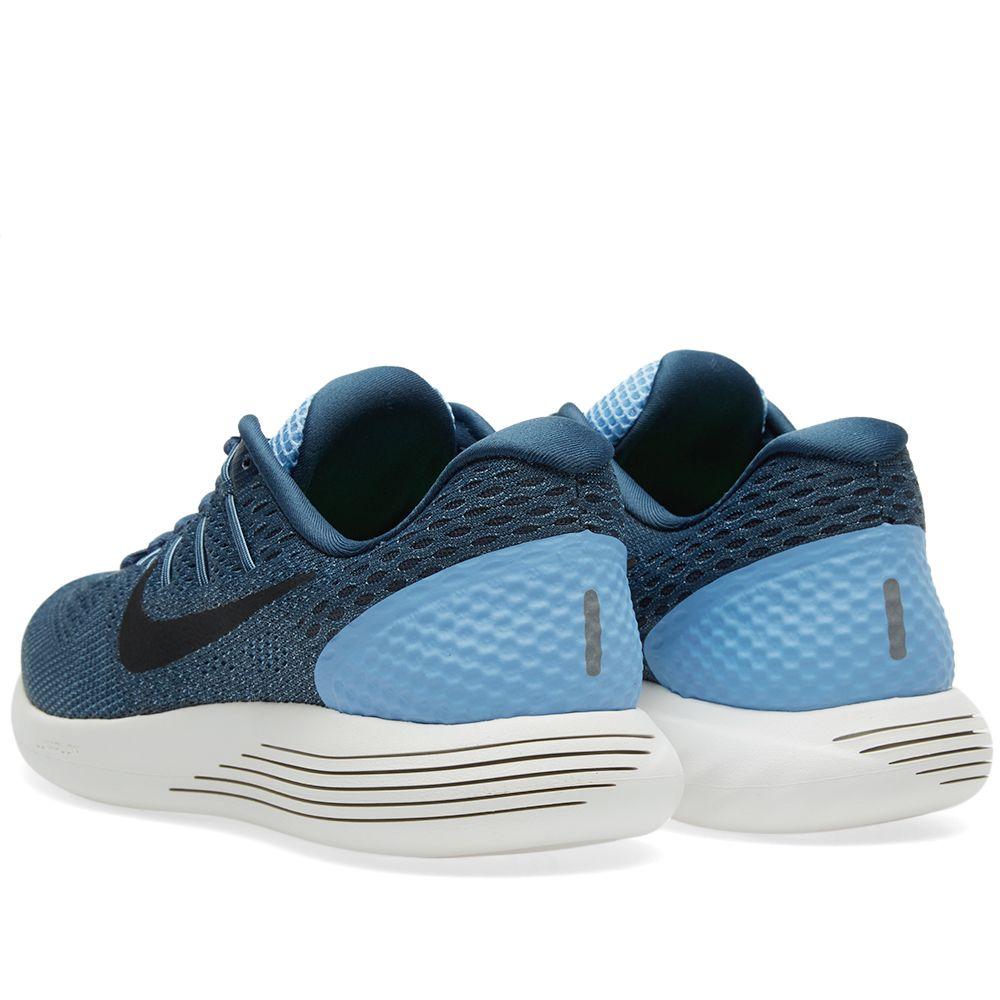 147f0cfcebb70d Nike Lunarglide 8. Light Blue   Black.  129  69. image