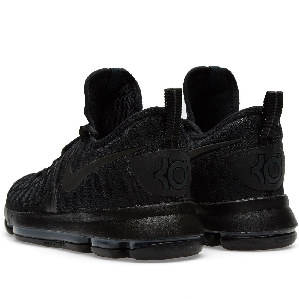 bfc175536ed2 Nike Zoom KD 9 Black   Anthracite