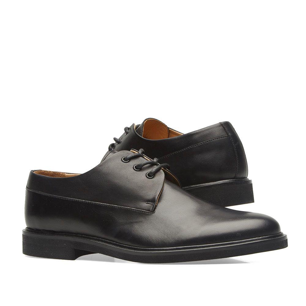 ef508999ac15 A.P.C. Gustave Derby Shoe Black
