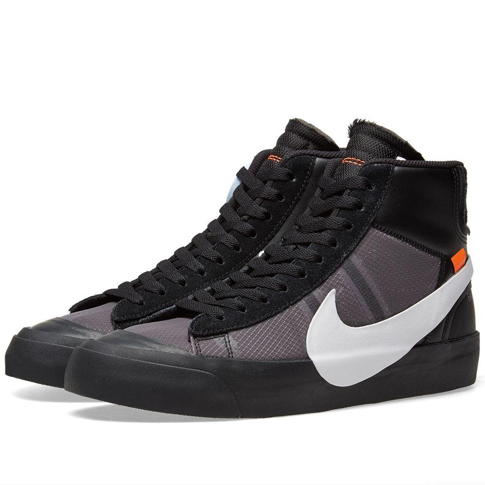 various colors de555 34124 The Ten  Nike Blazer Mid Black  White  END.