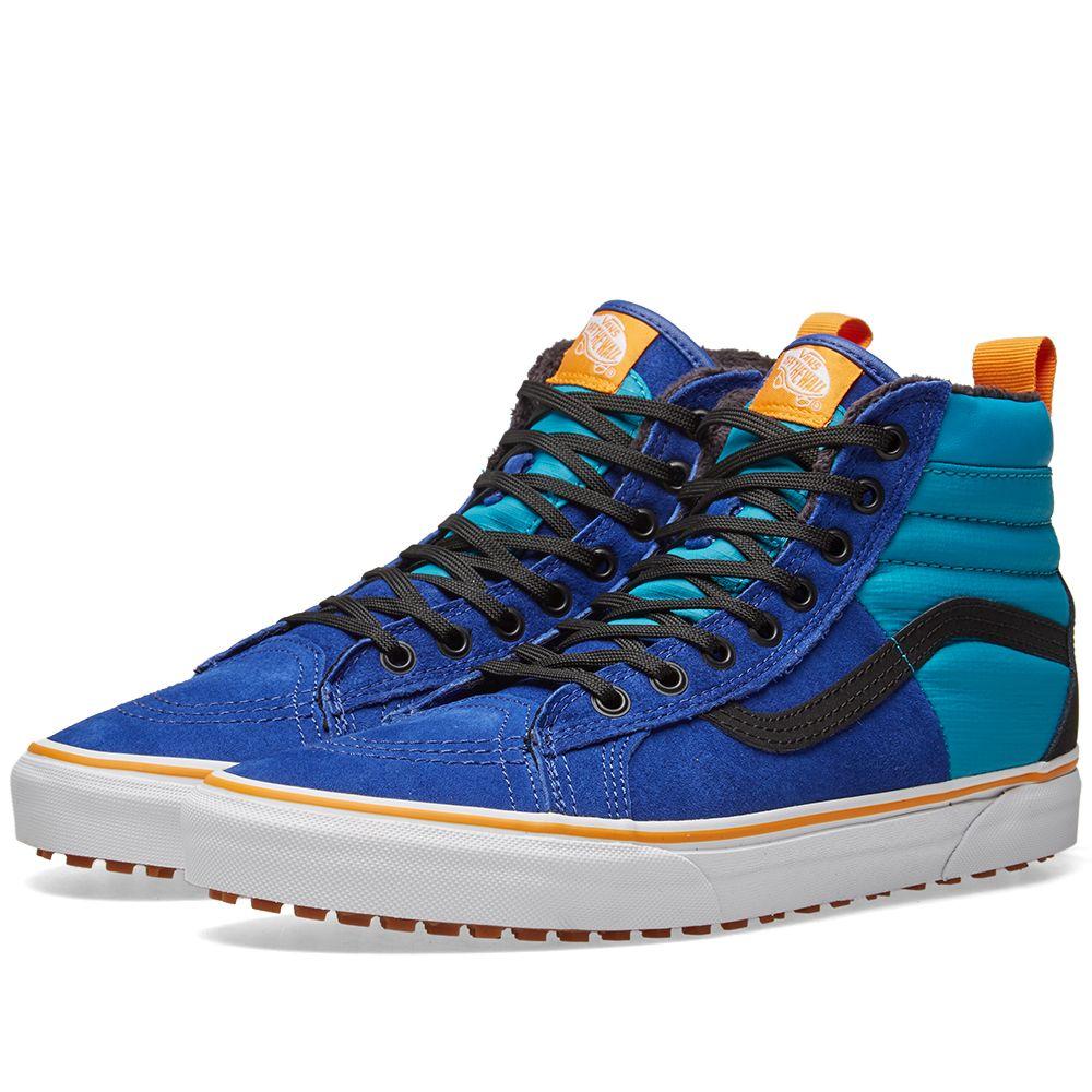28c936c78f Vans Sk8-Hi MTE DX Mazarine Blue
