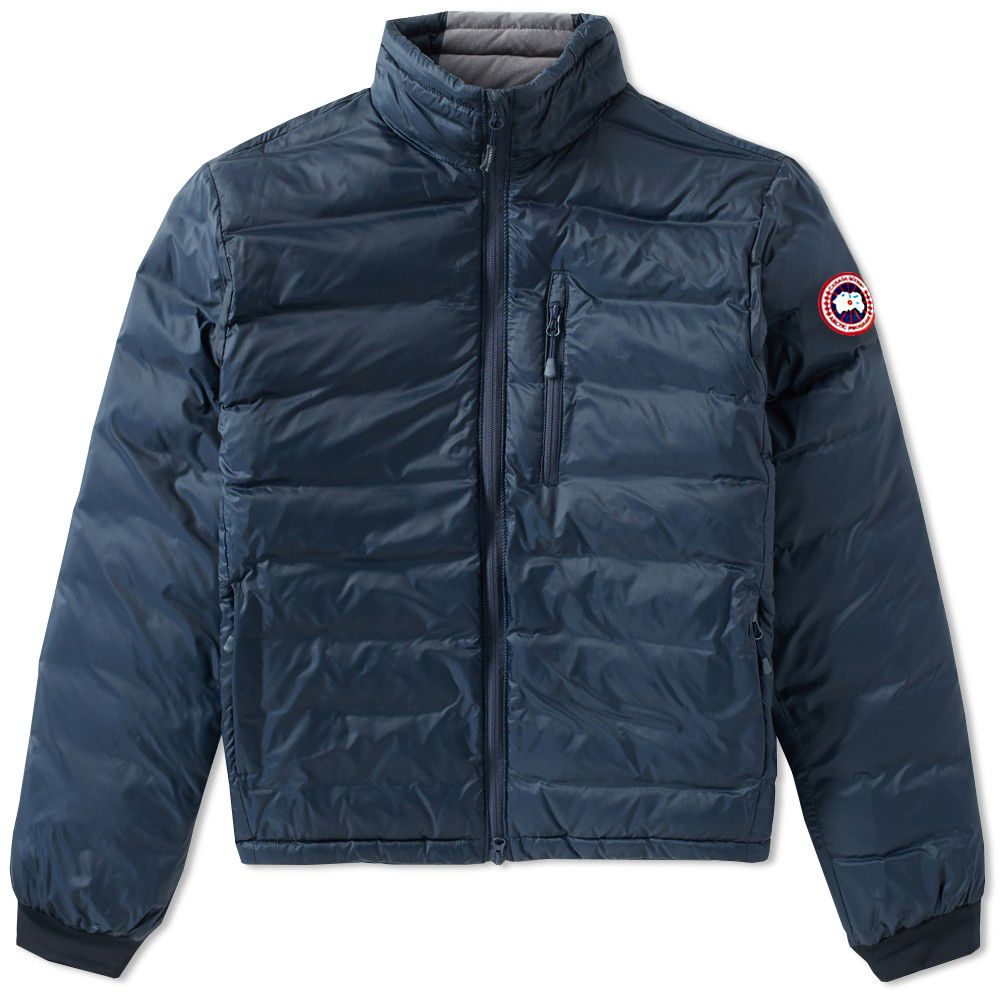 Canada Goose Lodge Jacket. Ink Blue   Firefly. £425. Plus Free Shipping.  image ca3da5694