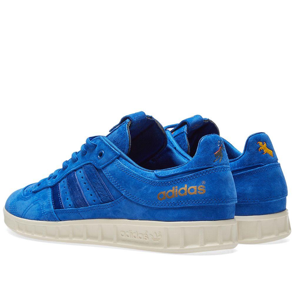 online store 1bf3f 4fdab Adidas Consortium x Footpatrol x Juice Handball Top SE Blue