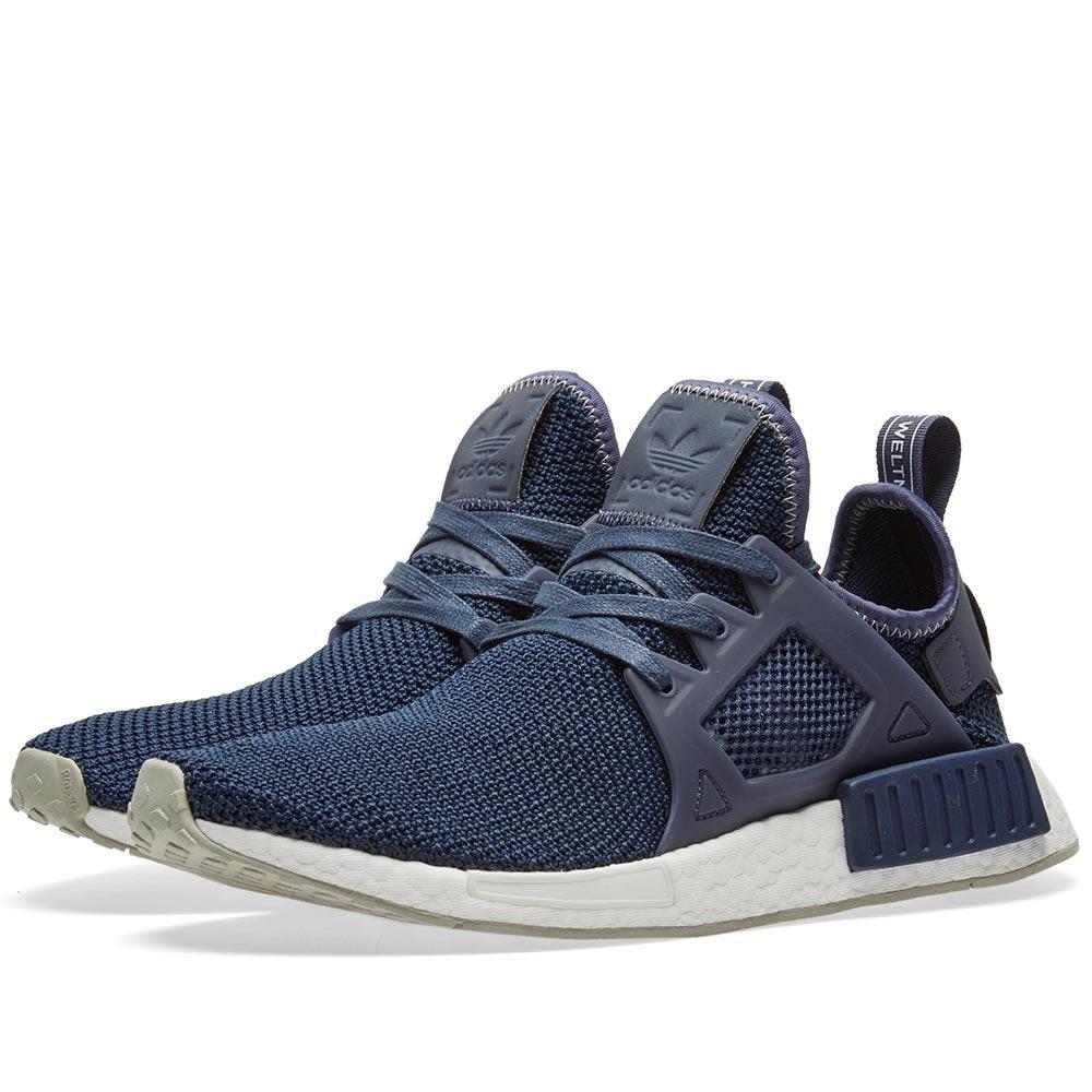b3de53423f2b4 BY9819 Womens Adidas Originals NMD XR1 Running Sneaker Trace Blue Sesame