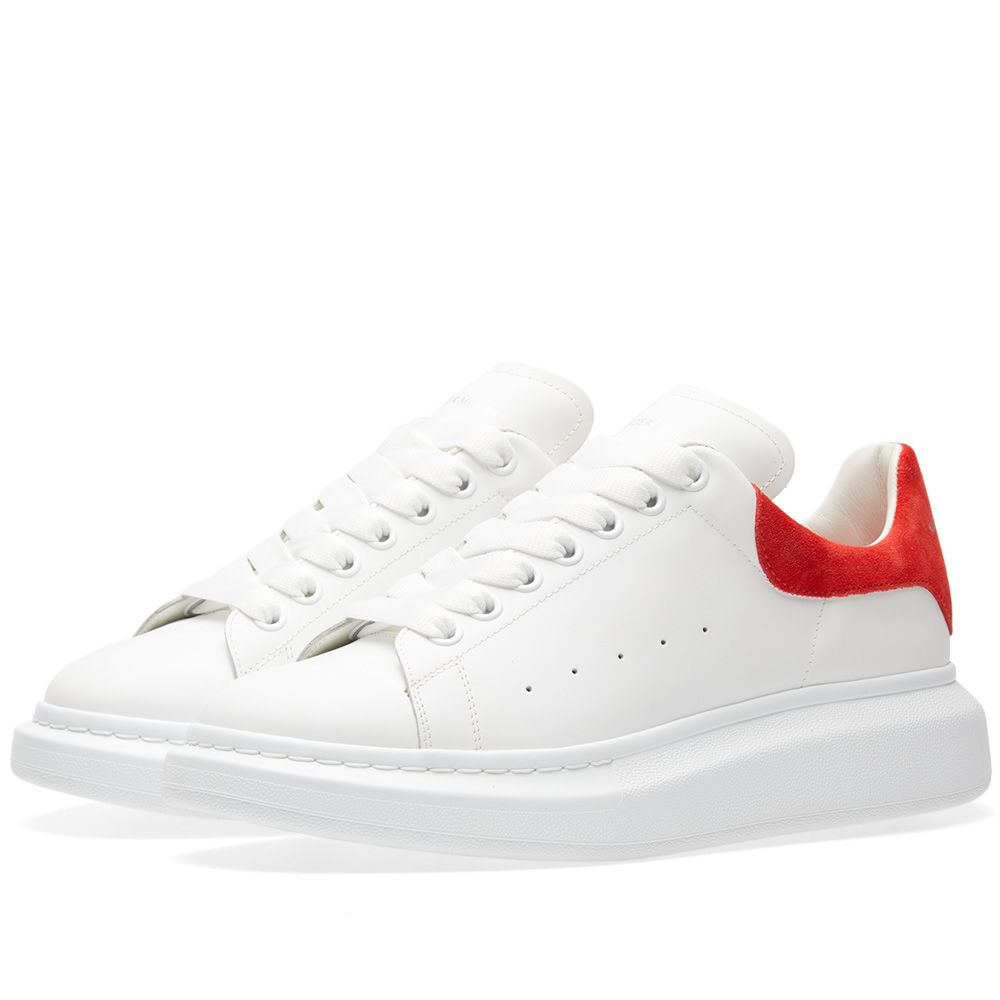 ecc2eebf2290 homeAlexander McQueen Wedge Sole Suede Heel Tab Sneaker. image. image.  image. image. image. image. image. image