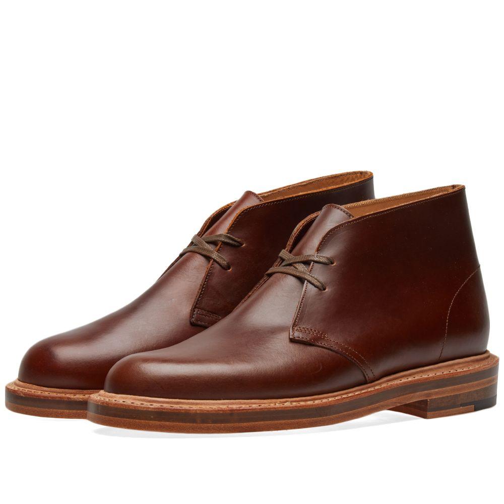 d7649ea5cc8 Clarks Originals Desert Welt - Made in the UK Tan Leather