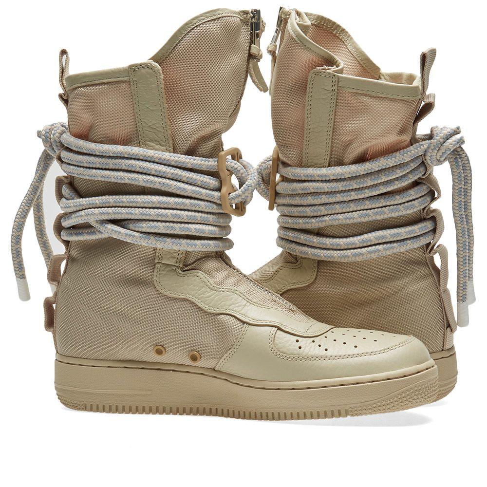 4304ac564df453 Nike SF Air Force 1 Hi Rattan
