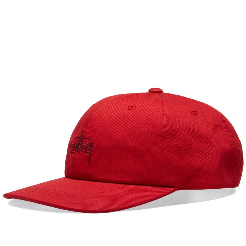 e279307a659 Stussy HO18 Stock Low Pro Cap Red