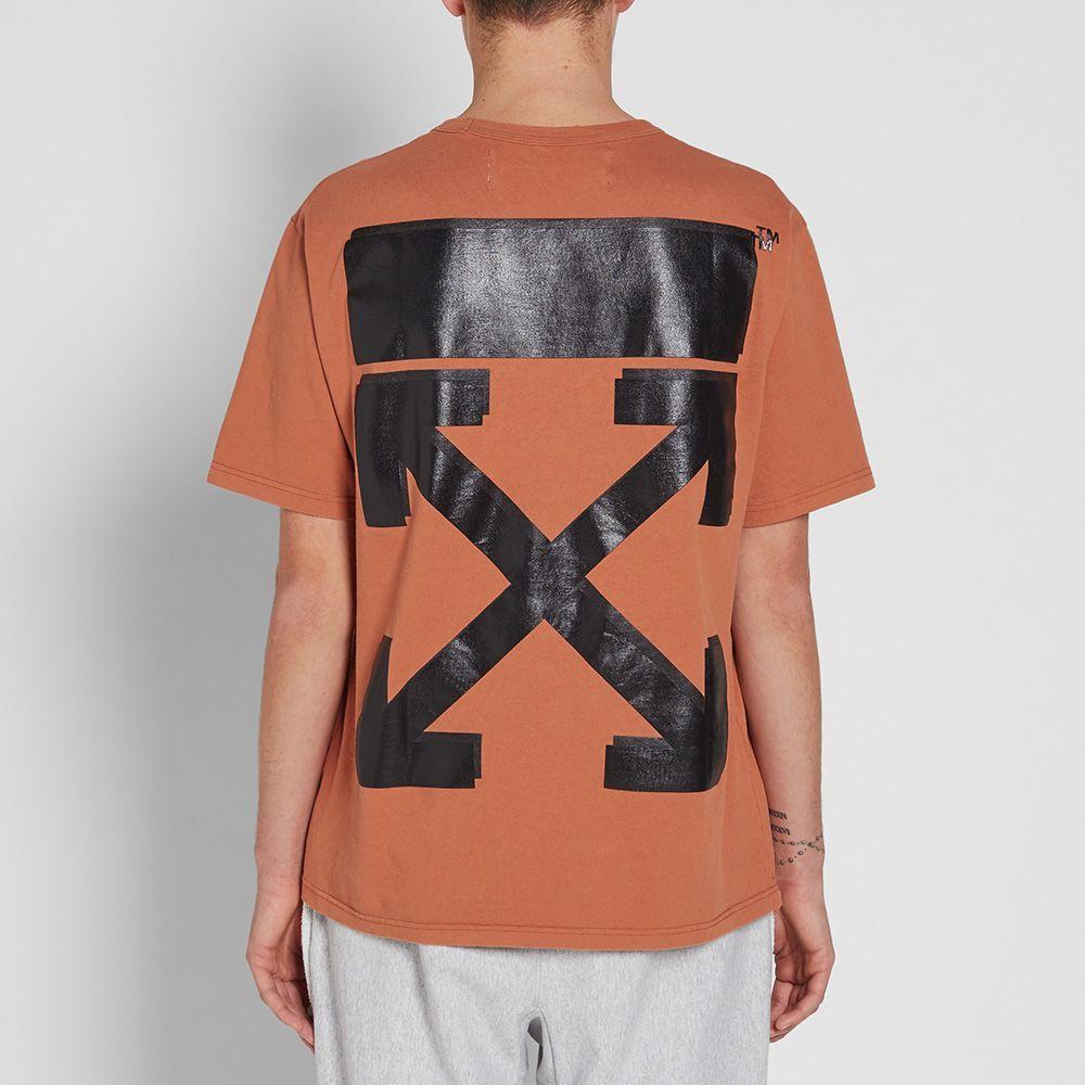 38255361 Off White Champion T Shirt Black