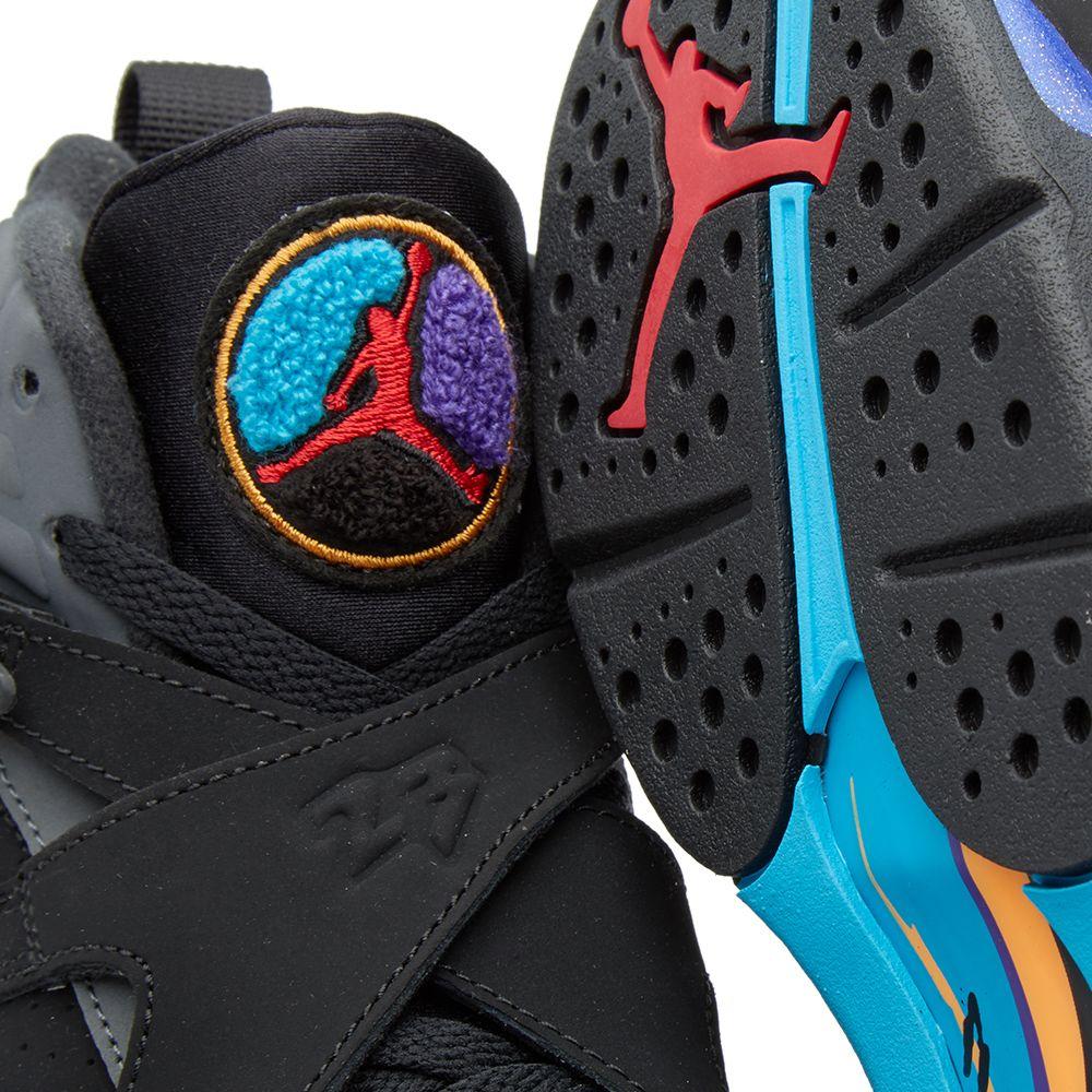 3db8831f197a3b Nike Air Jordan VIII Retro BG  Aqua  Black   Bright Concord