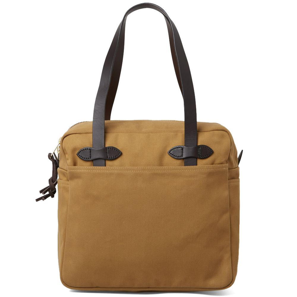 Filson Zip Tote Bag Tan   END. 6f53121783