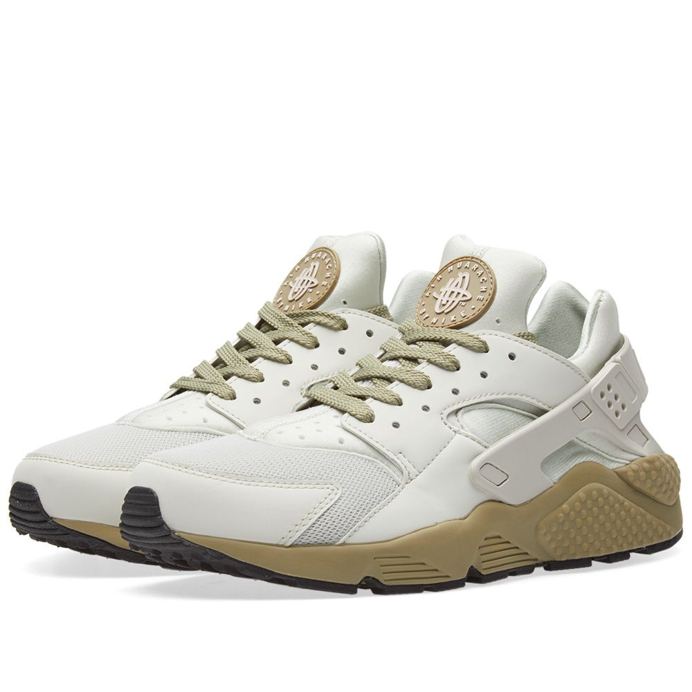8d00b9c6a6c4 Nike Air Huarache Run Light Bone   Neutral Olive