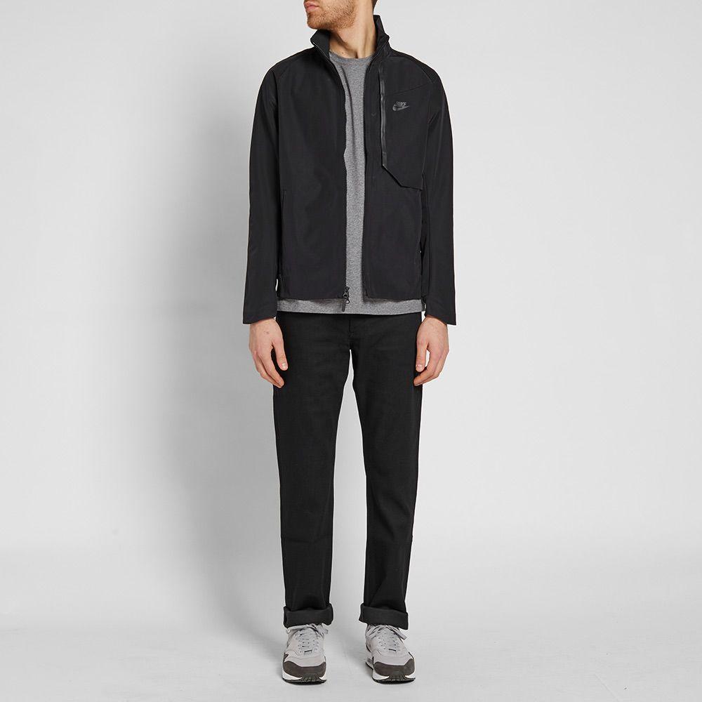 4538a90372d4 Nike Tech Fleece Shield Jacket Black