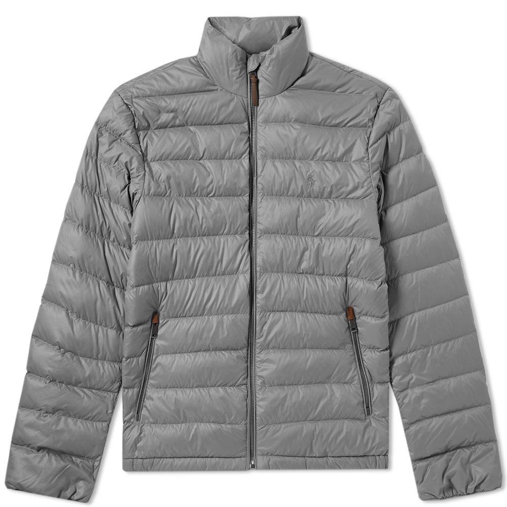 3ddbf045d325 Polo Ralph Lauren Lightweight Down Jacket Grey