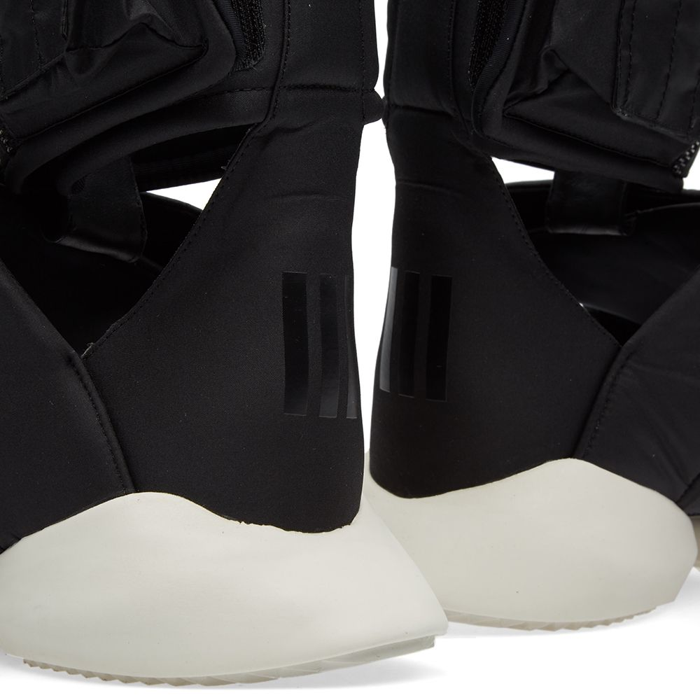 Adidas X Rick Owens Cargo Sandal Black White End