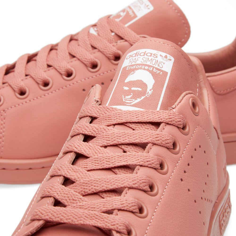 official photos fe601 d253d Adidas x Raf Simons Stan Smith. Ash Pink