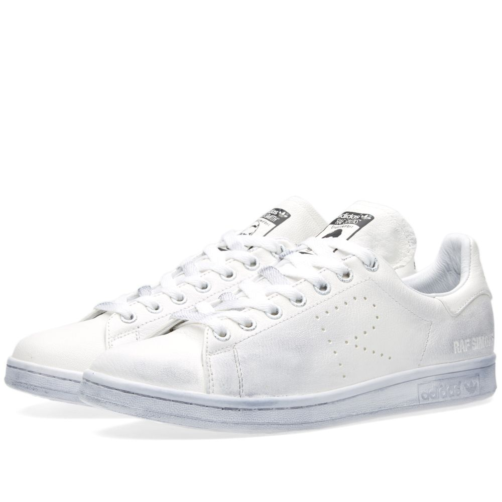 e7d0ca4bf06310 Adidas x Raf Simons Stan Smith Aged White   Core Black