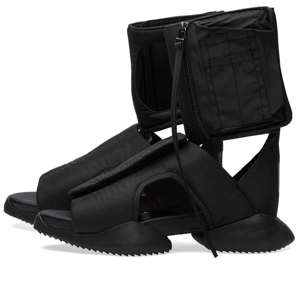 Adidas X Rick Owens Cargo Sandal Black End