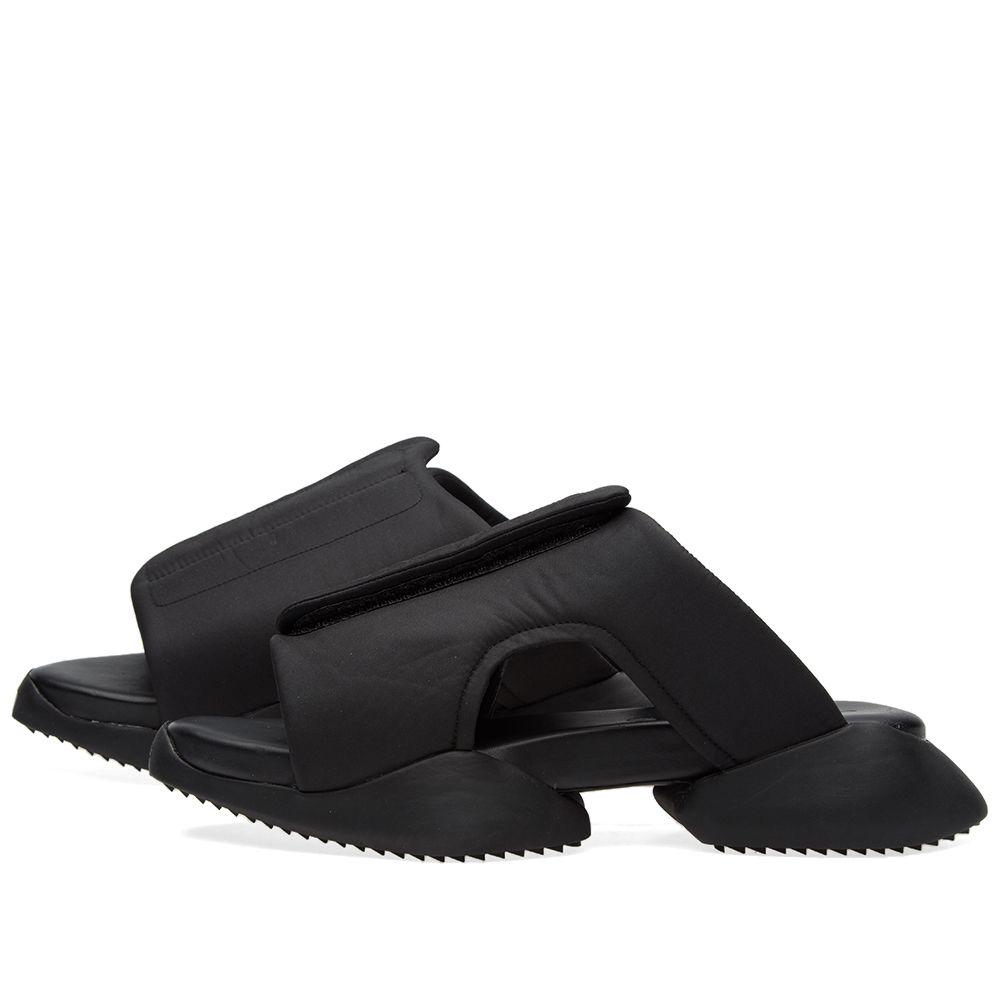 Adidas X Rick Owens Clogg Black End