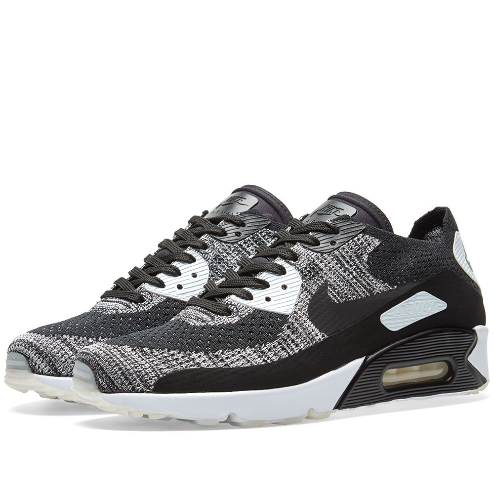 hot sale online 5fb58 a5fae Nike Air Max 90 Ultra 2.0 Flyknit. Black   White.  155  79. image. image.  image. image. image. image. image