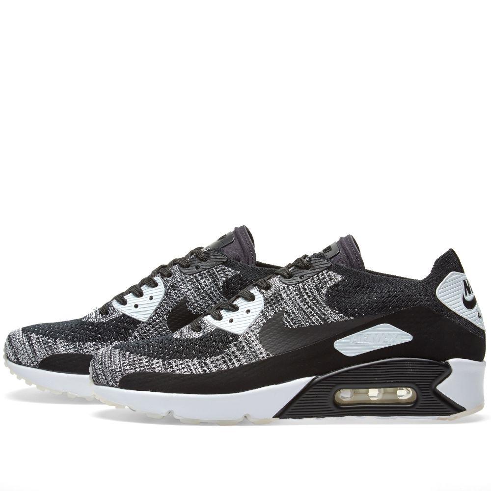 pretty nice 2645d dbfa1 Nike Air Max 90 Ultra 2.0 Flyknit. Black   White.  155  79. image. image.  image. image