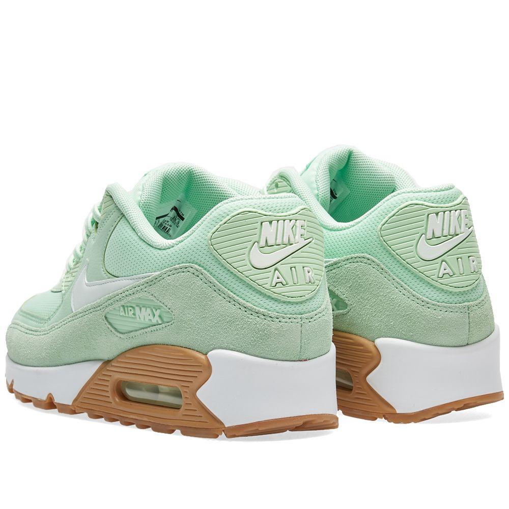 on sale 7e942 f6501 Nike W Air Max 90 Fresh Mint, Barley Green  Gum  END.