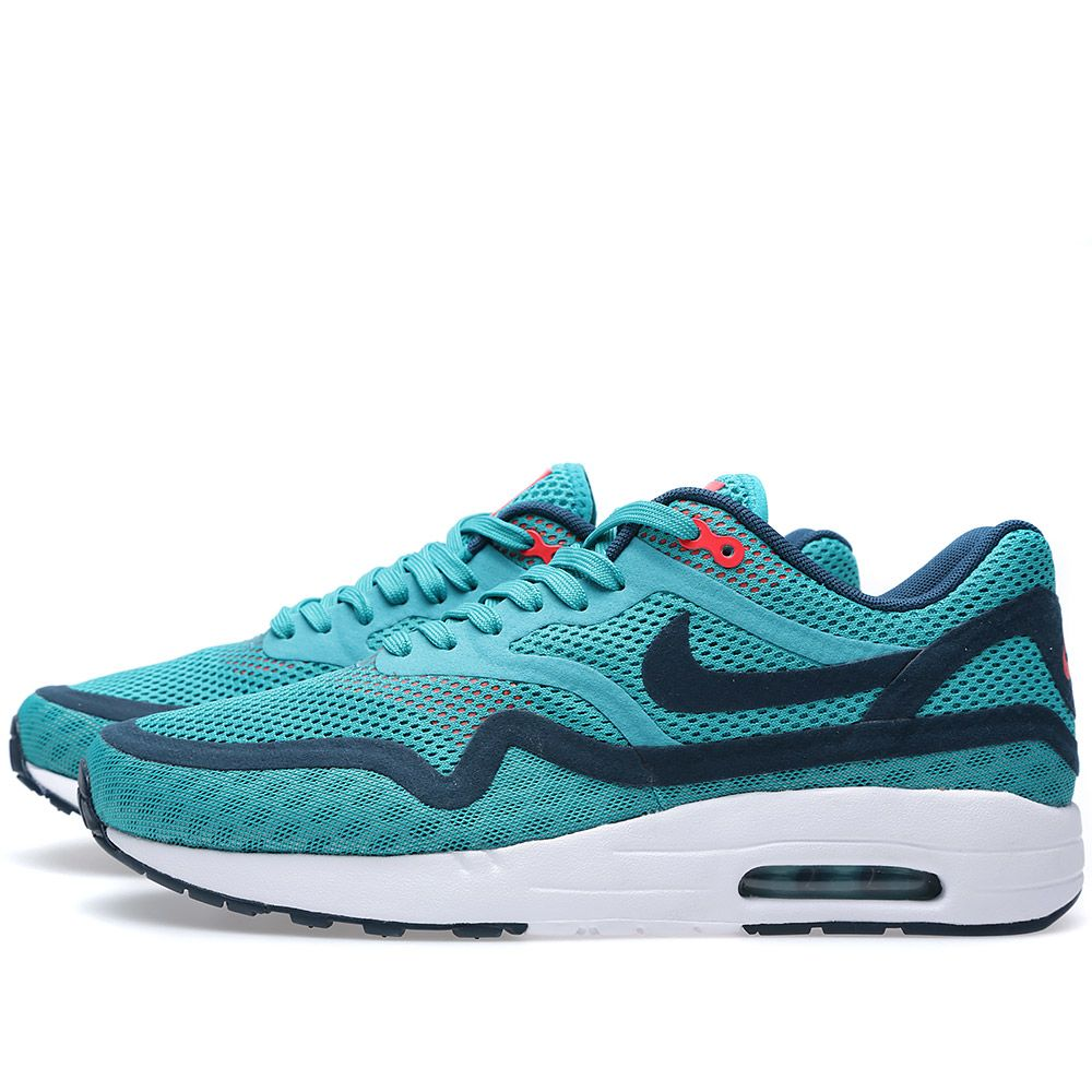 new style 84cd5 6e360 Nike Air Max 1 Breathe Turbo Green   Nightshade   END.