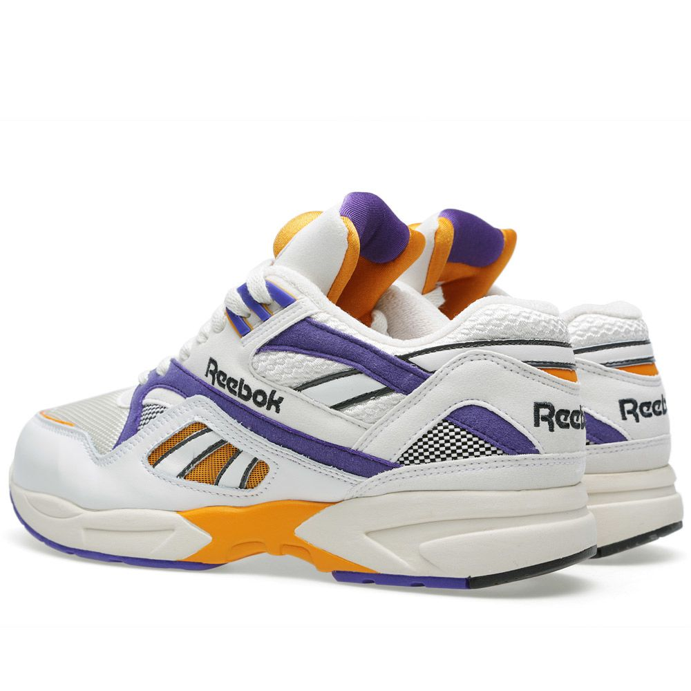 184532342767 Reebok Pump Graphlite Vine Chalk Team Purple Orange End