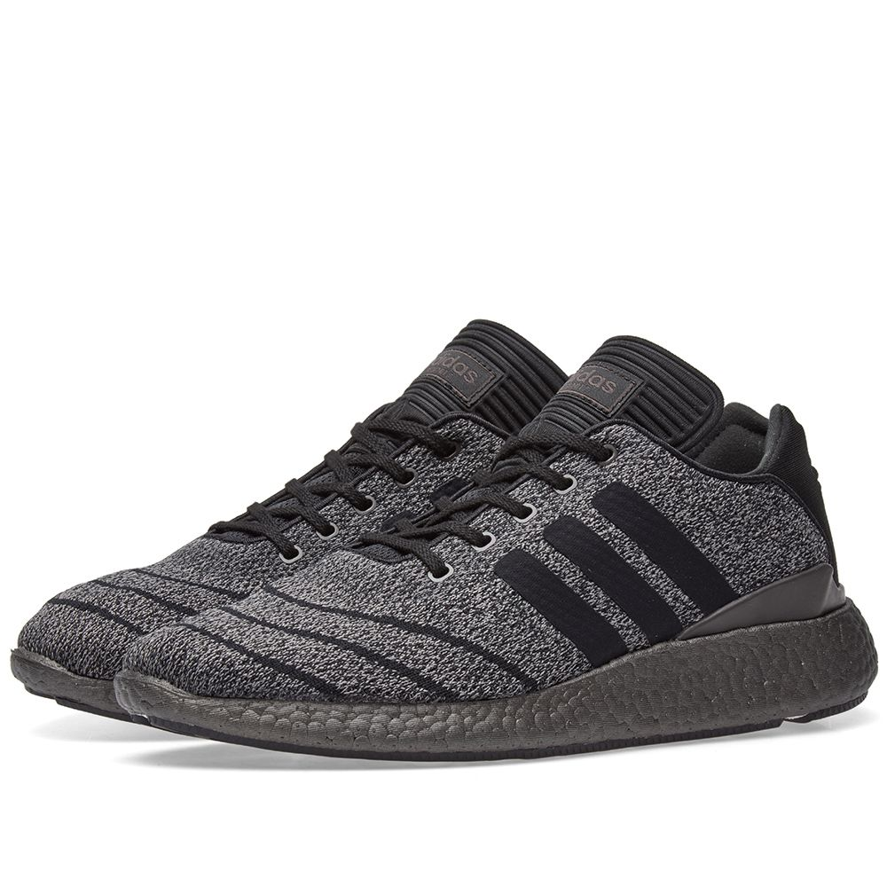 newest collection b696a e0560 Adidas Busenitz Pure Boost Primeknit Solid Grey  Black  END.