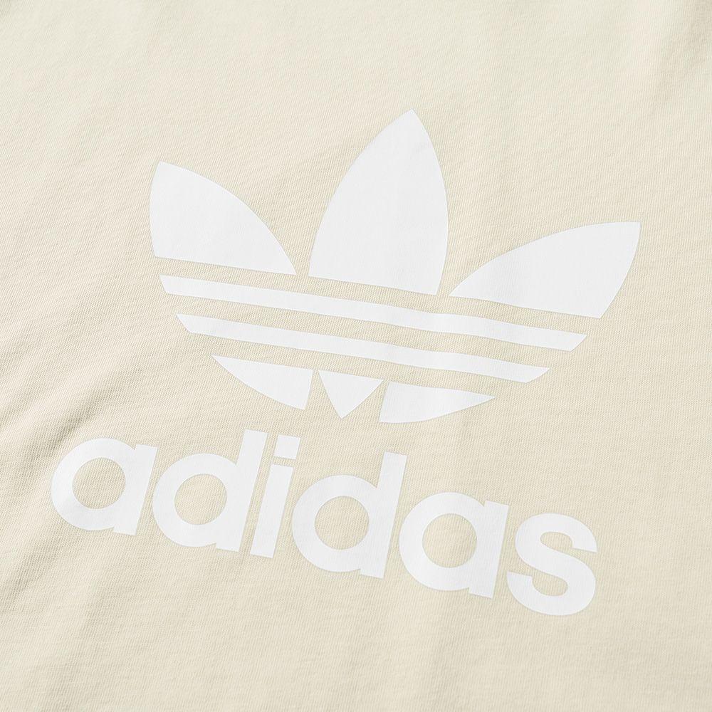 Adidas Trefoil Tee Linen  1d3736468