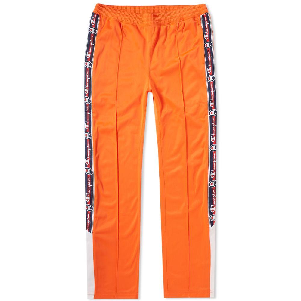7b885b22da46 Champion Reverse Weave Popper Taped Track Pant Bright Orange
