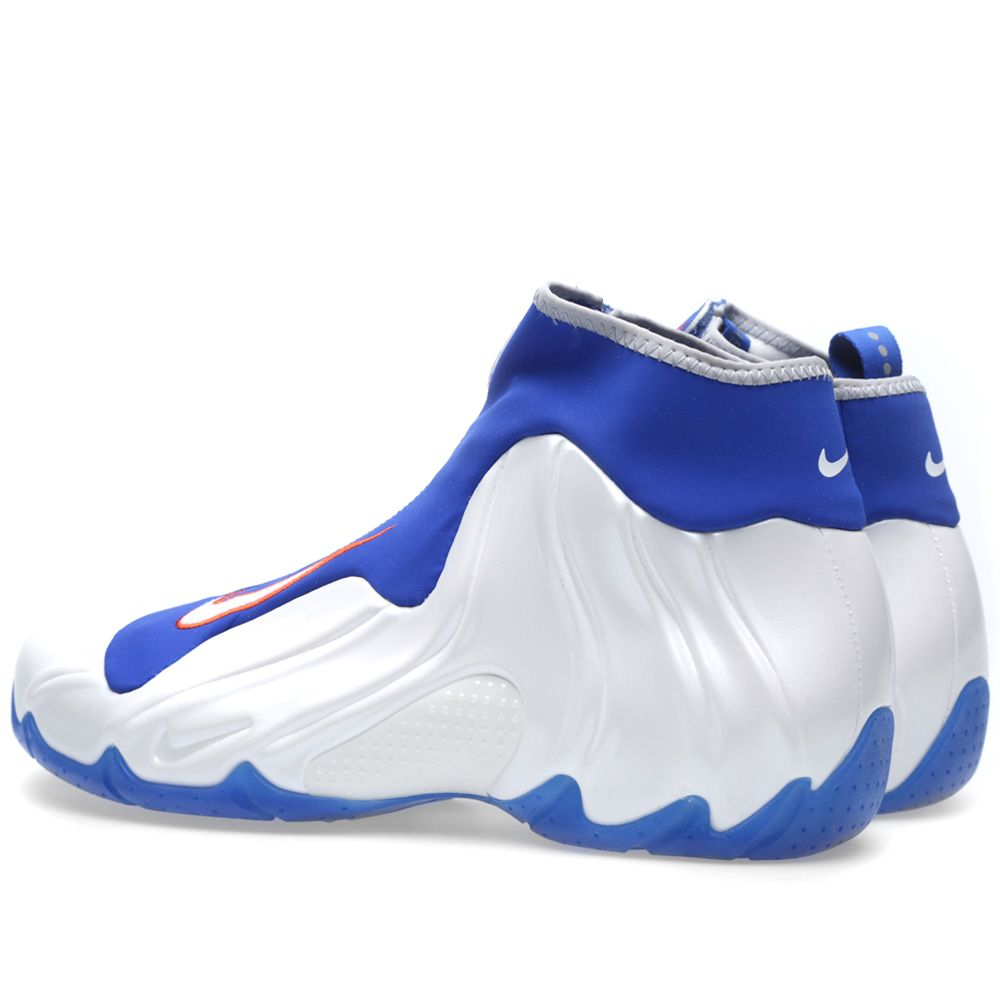 best loved 80183 20a42 Nike Air Flightposite 2014  Knicks  White   Game Royal   END.