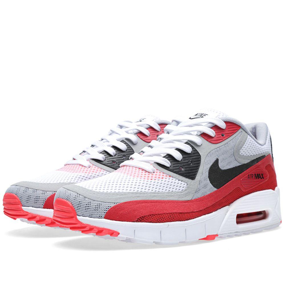 ba4837f95121 Nike Air Max 90 Breathe White