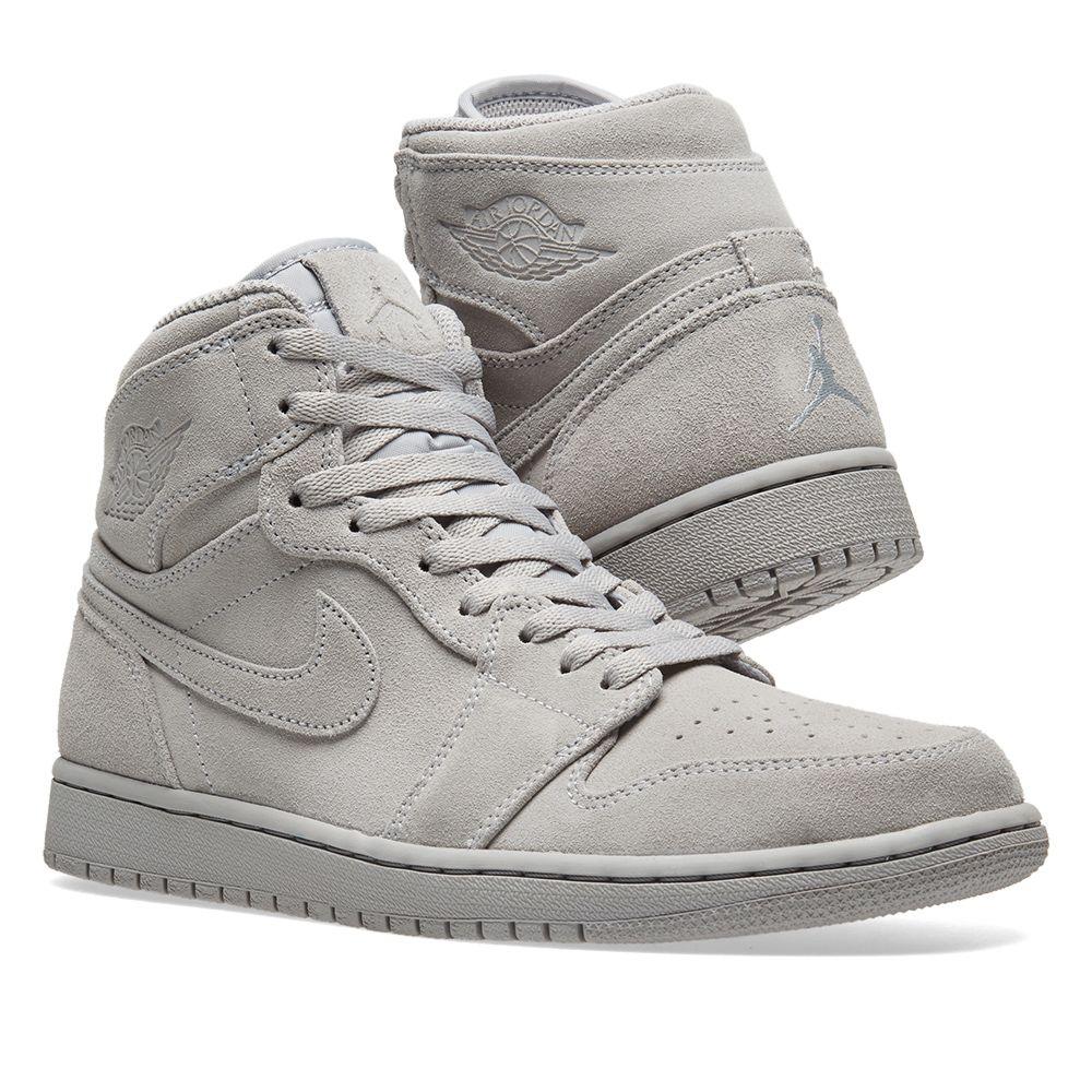 299138de00a6c3 Nike Air Jordan 1 Retro High Wolf Grey