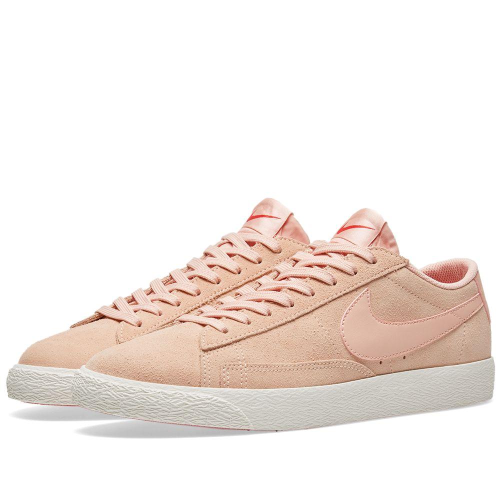 Nike Blazer Low Arctic Orange   Sail  408986dc7d