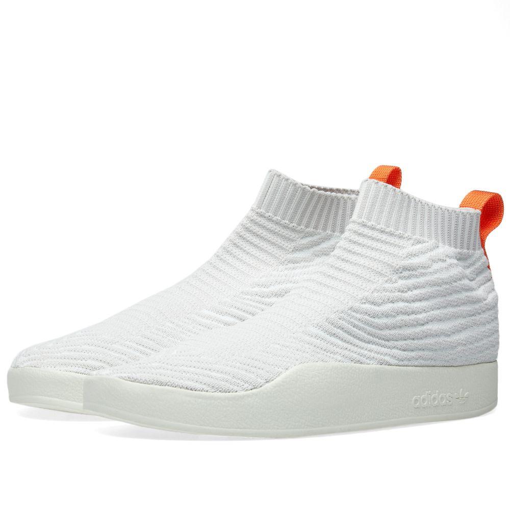b8a4acf57 Adidas Adilette PK Summer Sock White   Grey One