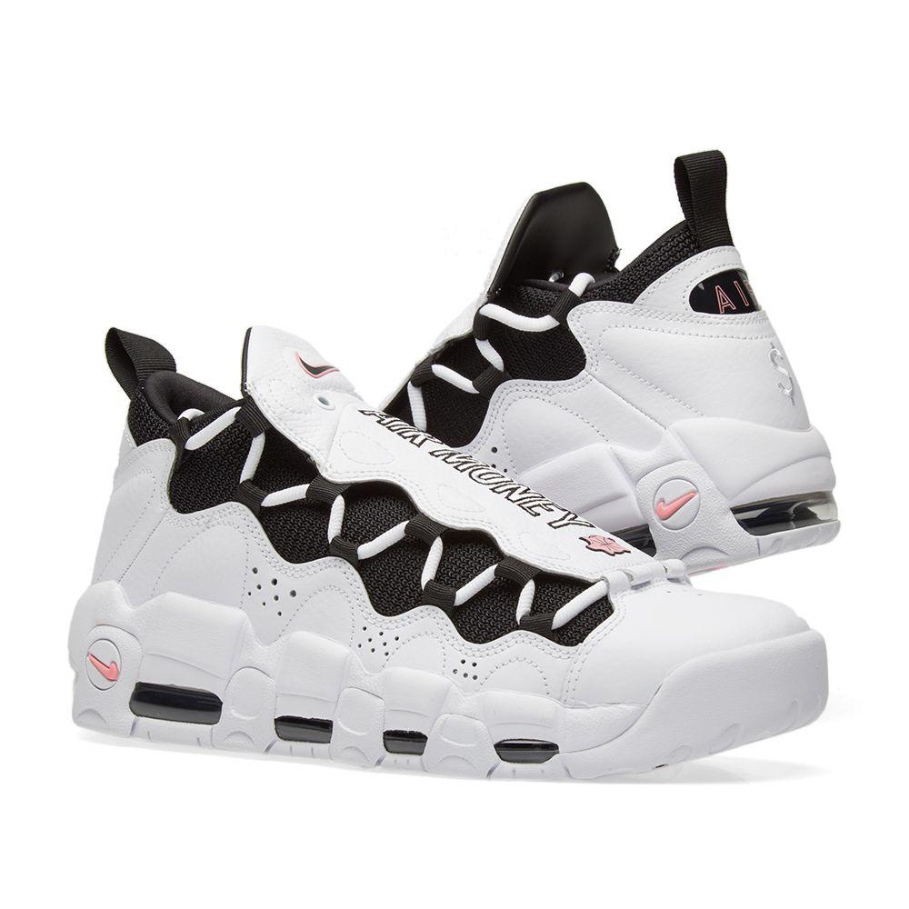 c206fa463c0b8 Nike Air More Money Chalk White   Coral Black