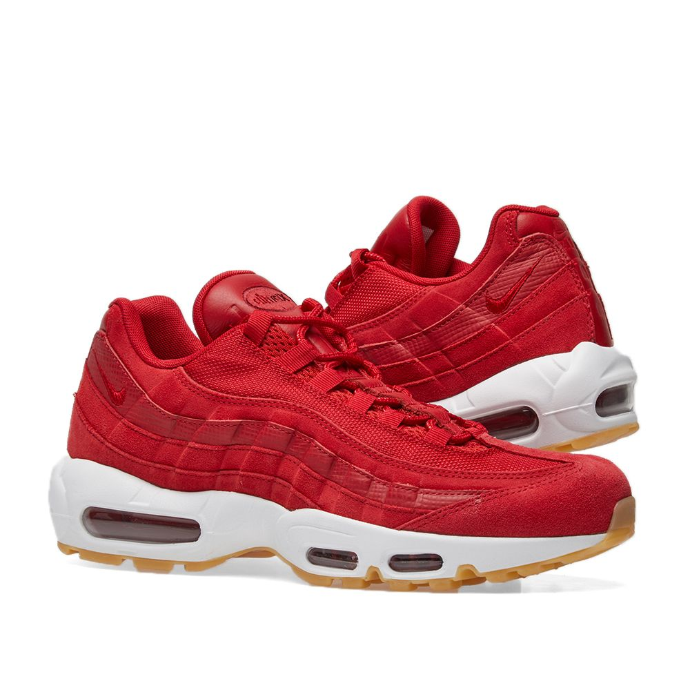 46404ba30184 ... cheap nike air max 95 premium gym red white end. 4e28b bc34c