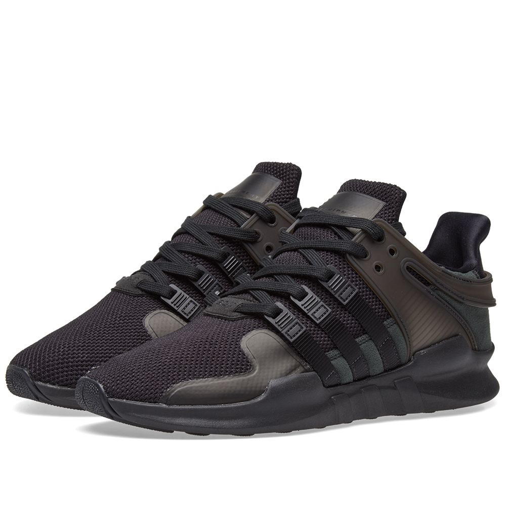 huge discount 10c32 f927e Adidas EQT Support ADV W Core Black  Sub Green  END.