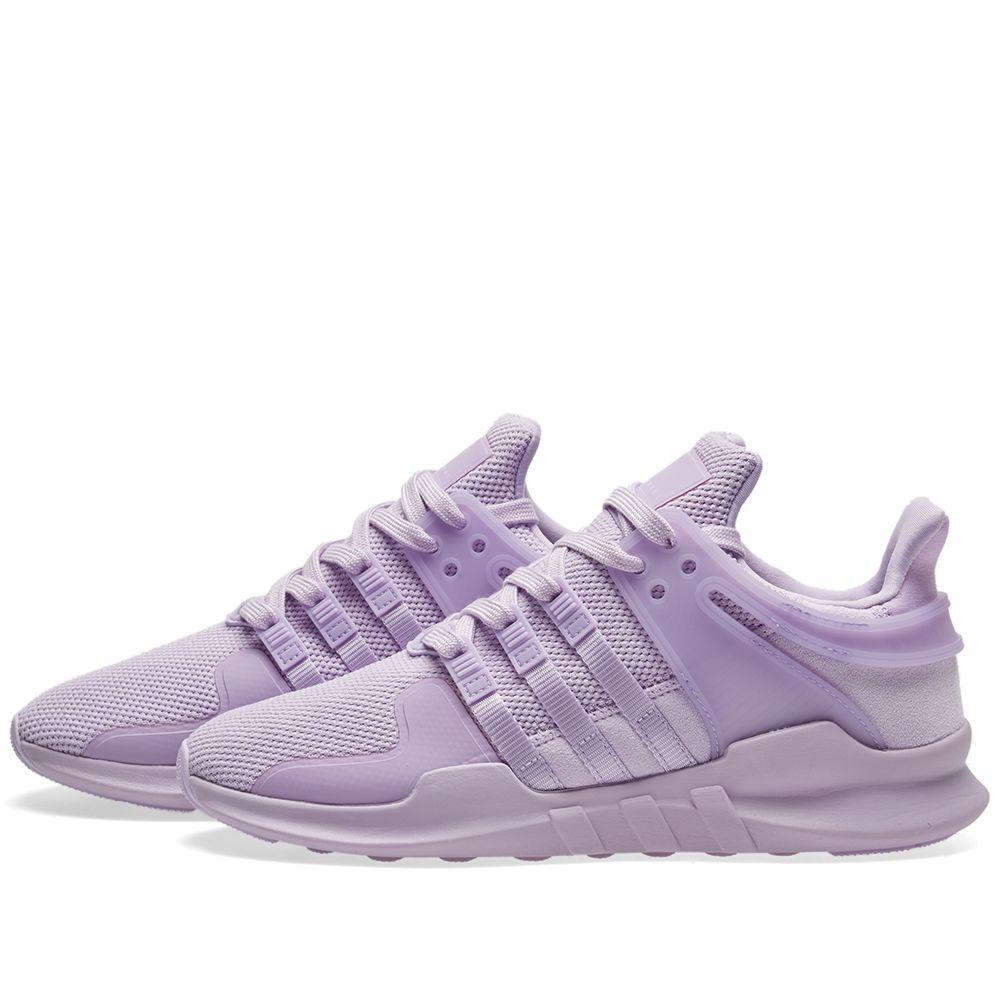 8c5de71a81e5 Adidas EQT Support ADV W Purple Glow   Sub Green