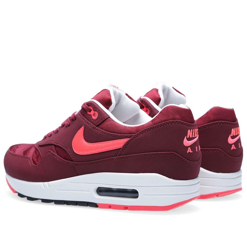 Nike Air Max 1 Premium. Team Red   Atomic Red. £95. Plus Free Shipping.  image f3a3cf176