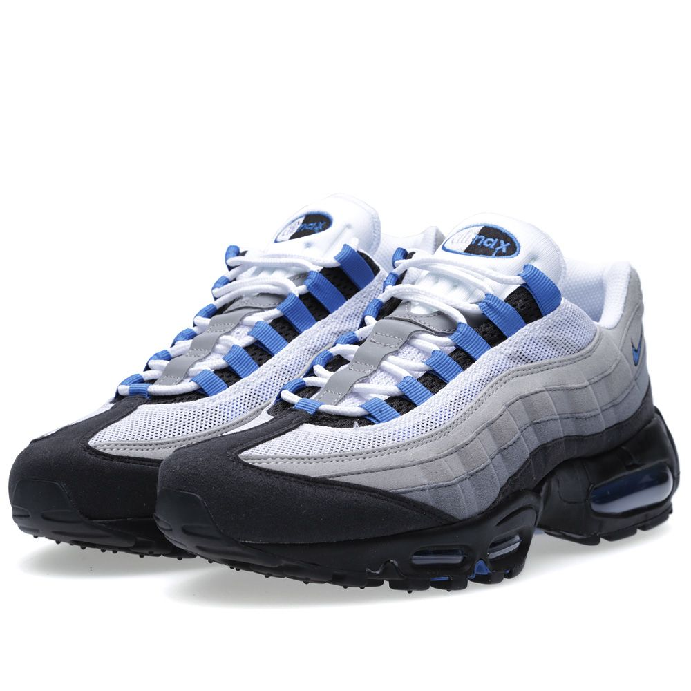 Nike Air Max 95 White   Blue Spark  5ea658c15