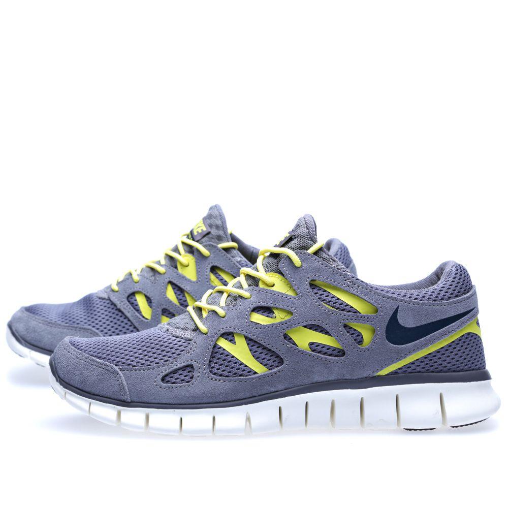 wholesale dealer 51ada ddc5e Nike Free Run 2 Cool Grey, Armoury   Navy   END.