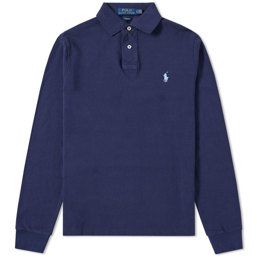 959ae71f6bb8b homePolo Ralph Lauren Long Sleeve Slim Fit Polo. image. image. image.  image. image. image. image